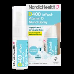 NordicHealth D-vitamin spray til småbørn og babyer