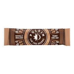 Pulsin Peanut Chock chip raw choco brownie (50 g)