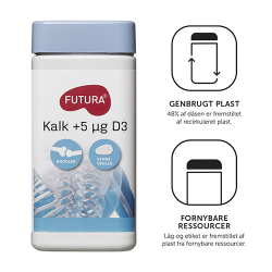 Køb Futura Kalk +D3 (190 tabletter)