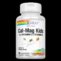Solaray Calcium Kids (90 tyggetabletter)