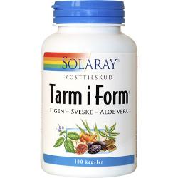 Solaray Tarm i Form - Ny sammensætning (100 kapsler)