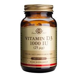 Solgar Vitamin-D 25 mcg - 100 kaps.