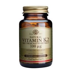 Solgar Vitamin K2 100 ug (50 kapsler)