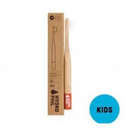 Organic Beauty Supply Bambus Tandbørste til Børn (rød)