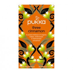 Pukka Three Cinnamon Te Ø (20 breve)