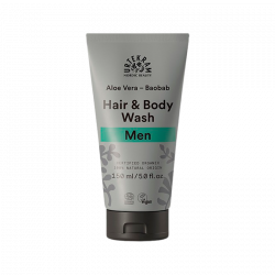 Urtekram MEN Hair & Body wash Aloe Vera & Baobab (150 ml.)