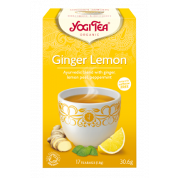 Yogi Tea Ginger Lemon Ø (17 breve)