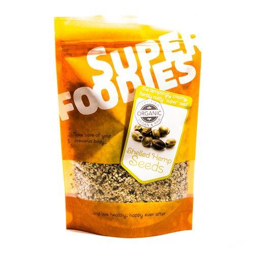 Image of Hampefrø afskallede Økologiske Super Foodies 250 g