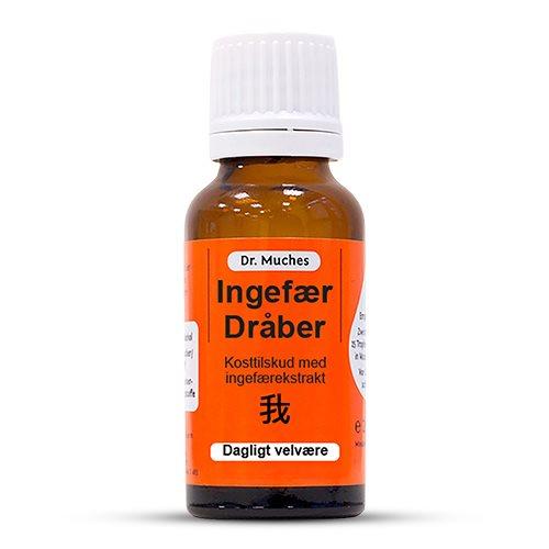 Ingefær dråber Dr. Muches - 20 ml