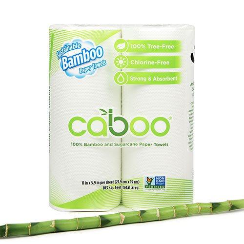 Image of Køkkenruller af bambus Caboo - 2 stk.