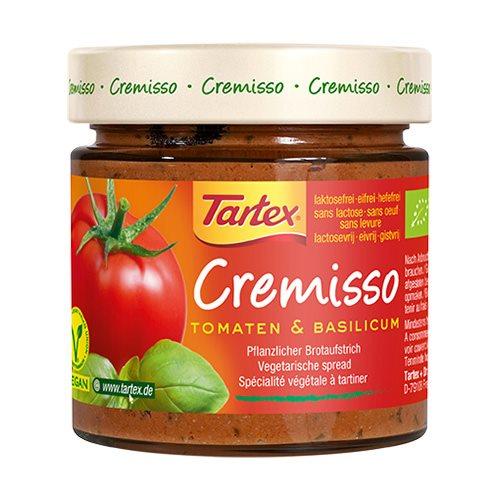 Image of Tartex Cremisso Tomat, Basilikum Ø - 180 g
