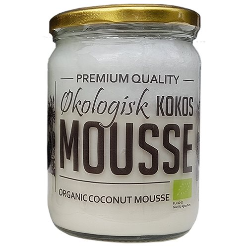 Image of Kokosmousse Økologisk - 500 ml