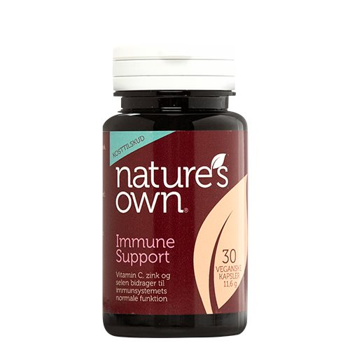 Image of   Natures Own Immune Support med beta-glucan (30 kaps.)