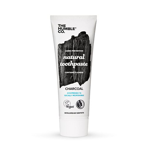 Image of   The Humble Co. Tandpasta Charcoal (75 ml)