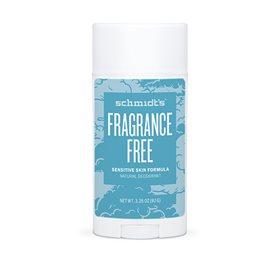 Image of   Schmidts Deo stick Fragrance Free sensitive 75 gr