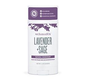 Schmidts Deodorant stick Lavender+Sage - 92 gr