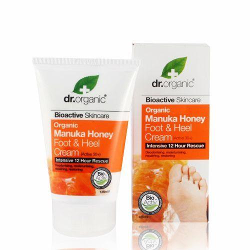 Dr. Organic Manuka Fod Cream - 125 ml.