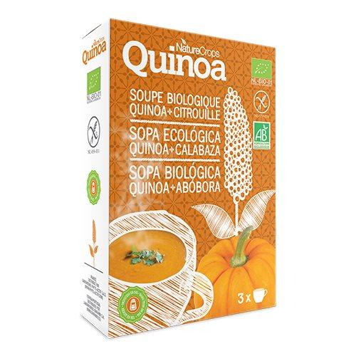 Græskarsuppe Quinoa fra NatureCrops - 45 gram
