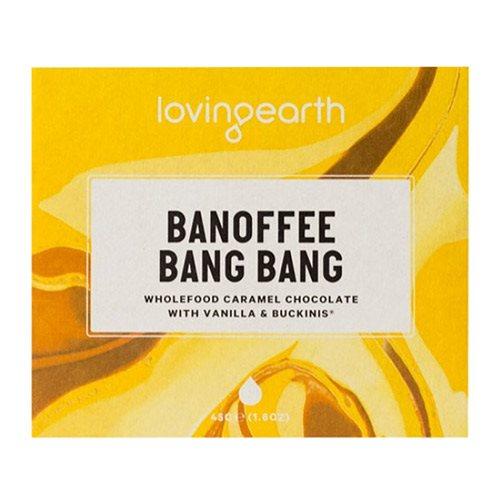 Chokolade Banoffee Bang Bang Loving Earth Ø - 45 g