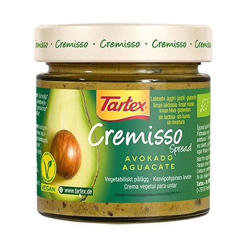 Image of Tartex Cremisso Avocado Øko - 180 gram