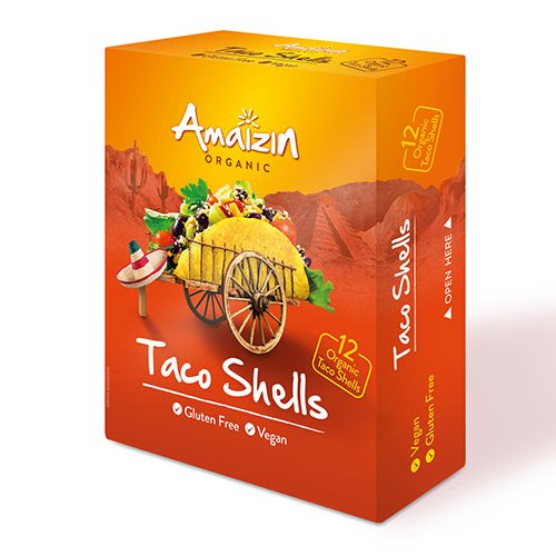 Amaizin Taco skaller Ø (12 stk)
