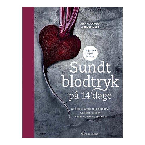 """Image of   """"Sundt blodtryk på 14 dage"""" Forfatter: Jerk Langer & Jens Linnet"""