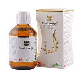 Image of Ecolomega flydende fiskeolie med citrus - 200 ml.