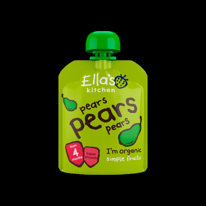 Babymos pære & pære 4 mdr Økologisk - 70 gram