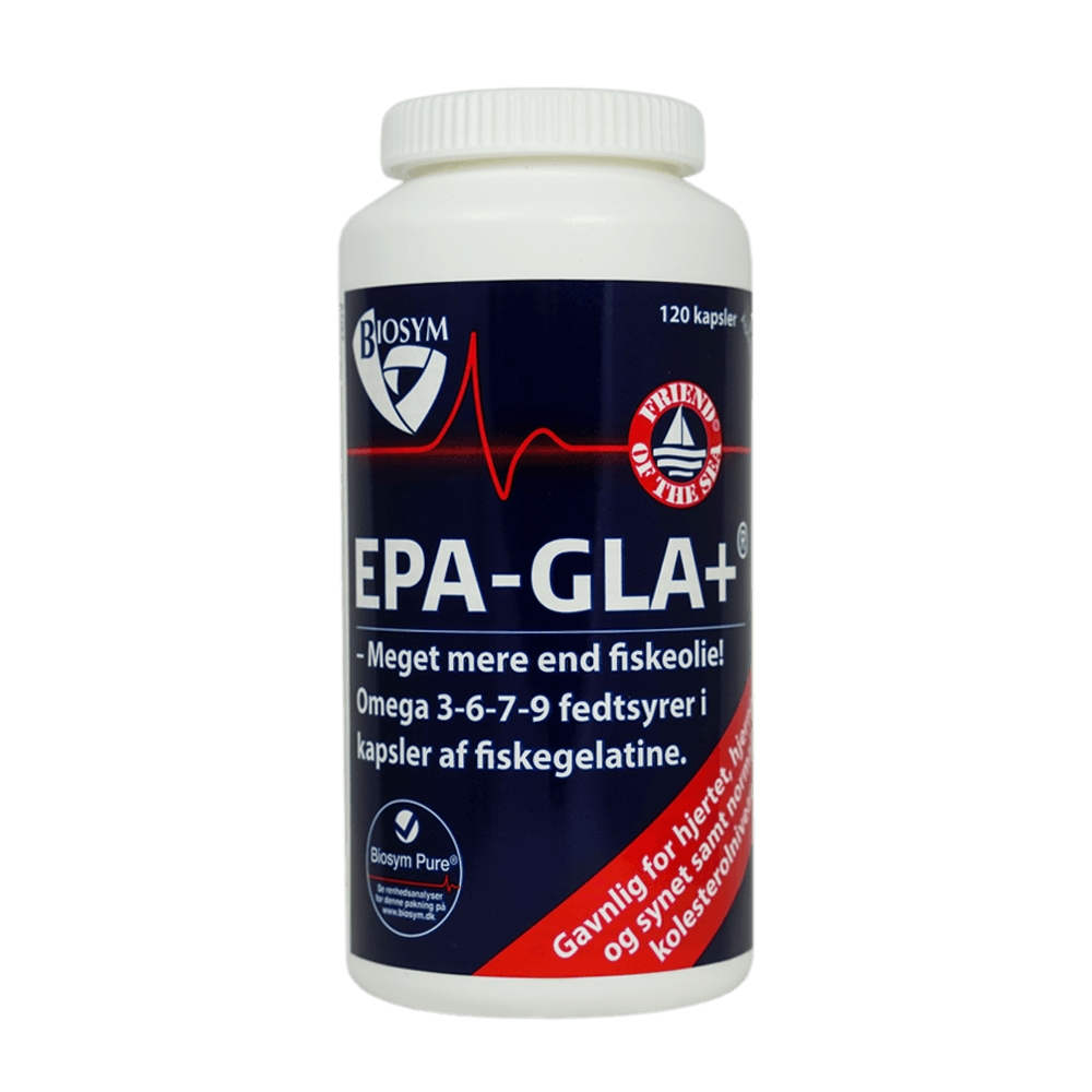 Image of Biosym EPA-GLA+ (120 kapsler)