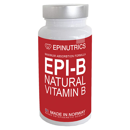 Image of   Epinutrics EPI-B Natural Vitamin B (60 kaps)