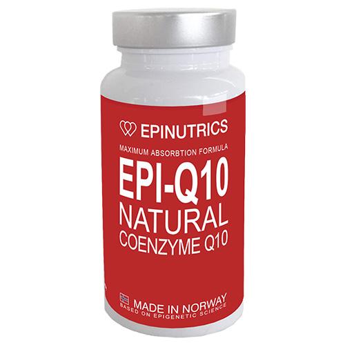 Image of   Epinutrics EPI-Q10 Natural Coenzyme Q10 (60 kaps)
