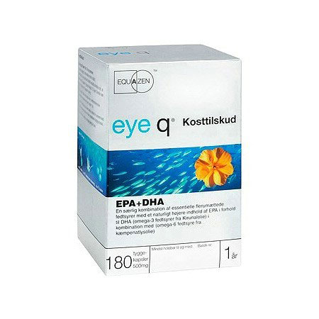 Image of Eye Q fiskeolie - 180 kapsler