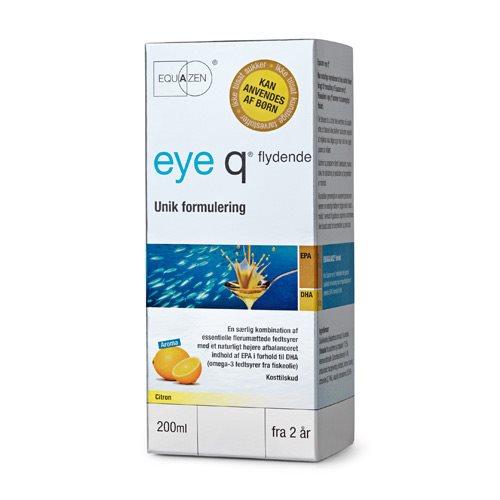 Eye Q fiskeolie mikstur - 200 ml.