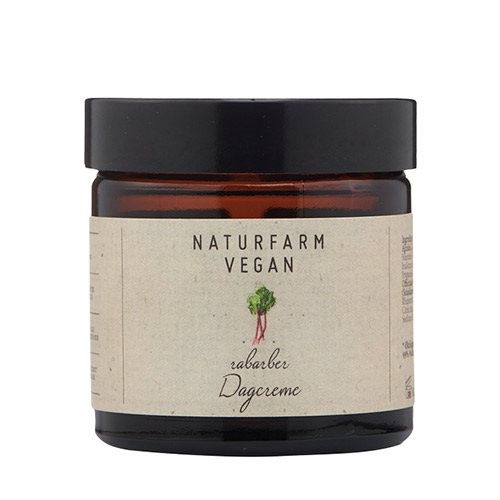Image of   Naturfarm Dagcreme Rabarber (60 ml)