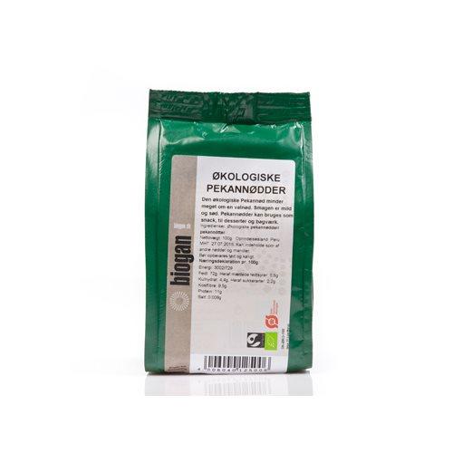 Pekannødder Økologiske fra Biogan - 100 gram