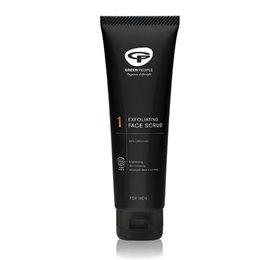 GreenPeople Scrub og ansigtsvask til mænd - 125 ml