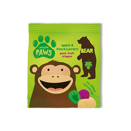 Image of Bear Jungle Paws æble & solbær - 20 gram