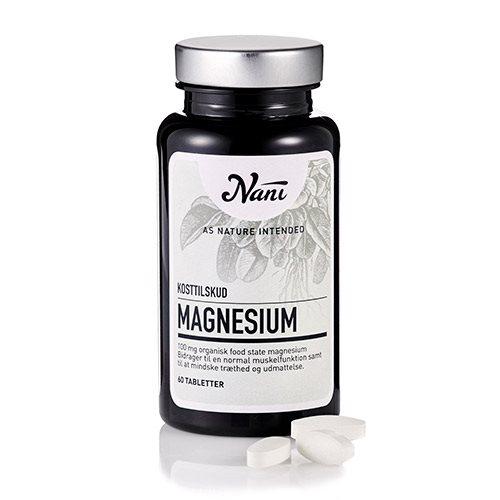 Nani magnesium fra Netspiren