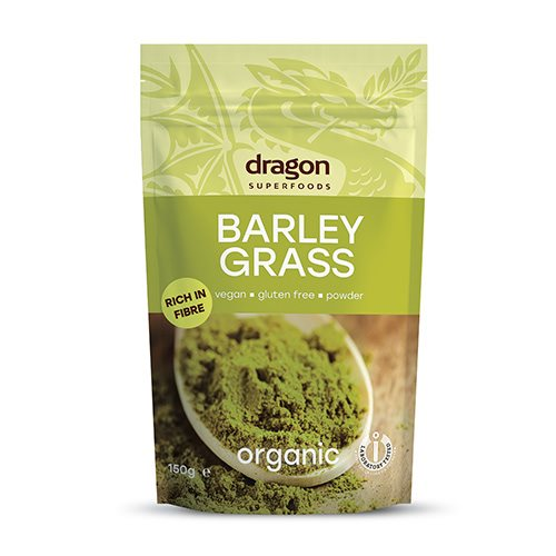 Image of   Dragon Superfoods Byggræs Ø (150g)