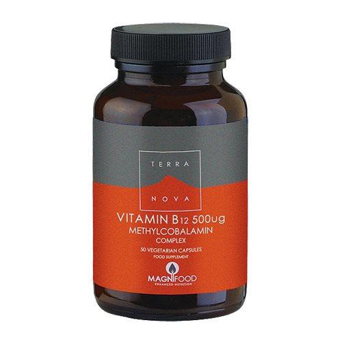 Image of   Vitamin B12 500 mcg Terra Nova 50 kapsler
