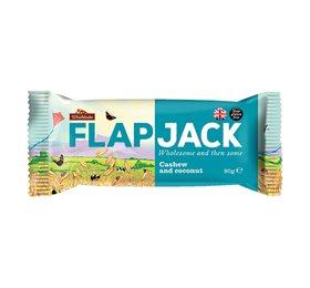 Flapjack cashew og kokos  - 80 gram
