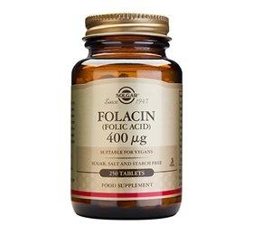 Image of   Solgar Folinsyre (Folacin) 400 mcg - 250 tabletter