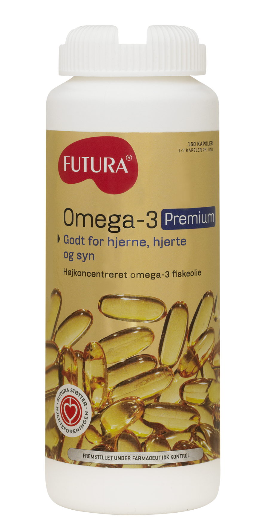 Omega-3 Premium Futura - 160 kapsler