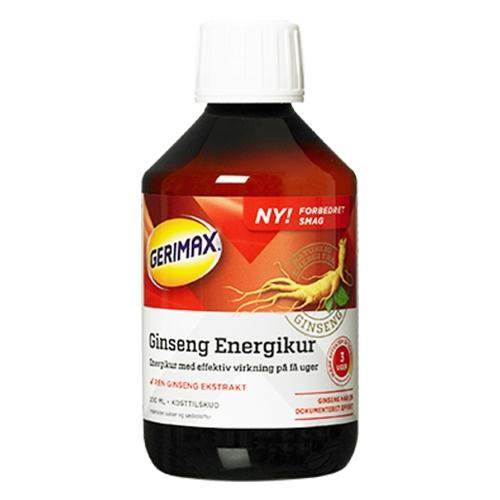 Image of   Gerimax Ginseng Energikur - 250 ml.