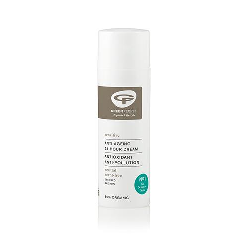 Billede af GreenPeople 24 timers creme uden duft - 50 ml