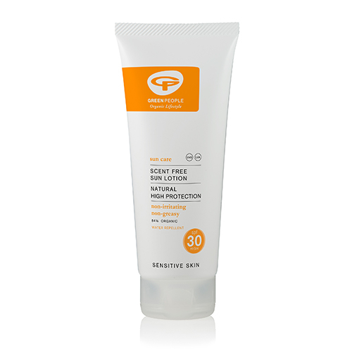 Image of   Green People Sun lotion SPF 30 Scent Free - 100 ml