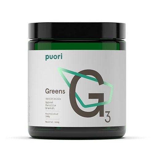 Image of Greens G3 Lemon Lime fra PurePharma - 225 gram