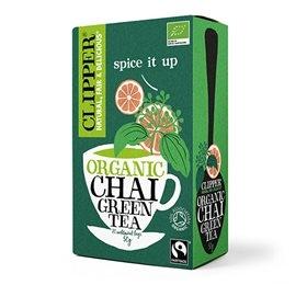 Clipper Grøn chai te Økologisk - 20 breve