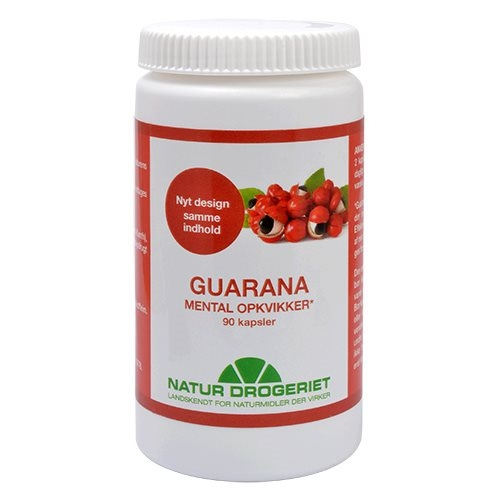 Guarana 500 mg - 80 kapsler