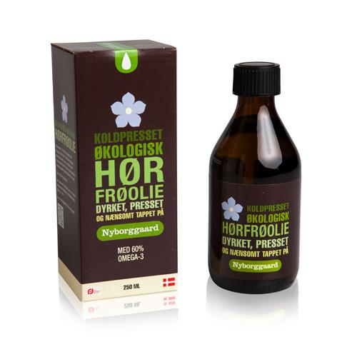 Nyborggaard Hørfrøolie Økologisk - 250 ml